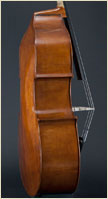 Paul Bryant English Double Bass side