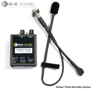 K&K Golden Trinity: Bass Max System (Golden Bullet Microphone + Max)