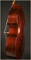 Hungarian upgright double  bass