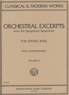 Upright Double Bass Orchestral Excerpts
