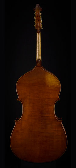 G.B. Rogeri upright bass back