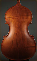 Wilfer upright double bass back